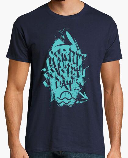 Camiseta Surf Every Day Grunge Green