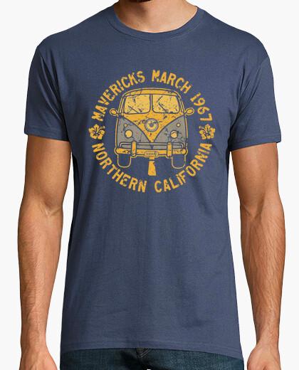 T-shirt surf perché mavericks