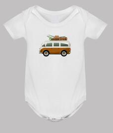 surf van - corps bébé