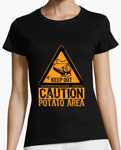 Tee-shirt surface de la pomme de terre