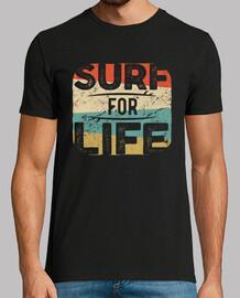 surfing retro vintage surfing t shirt