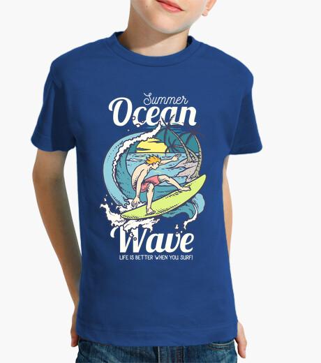 Ropa infantil Surfing Waves
