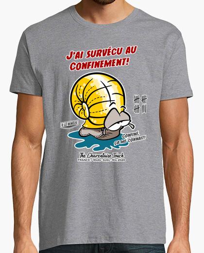 Tee-shirt Survécu au Confinement