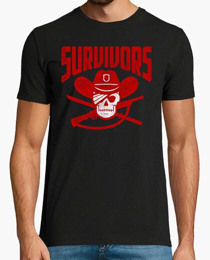 Camiseta Survivors (The Walking Dead)