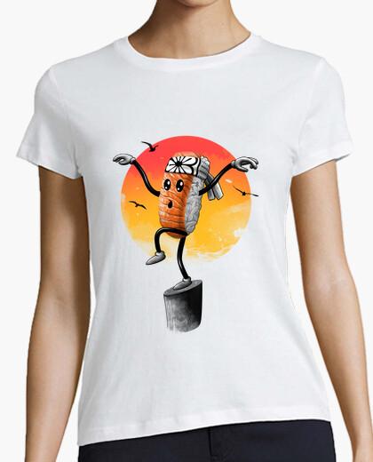 T-Shirt sushi-stil