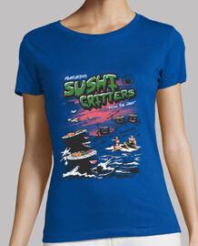 sushi critters camiseta mujer