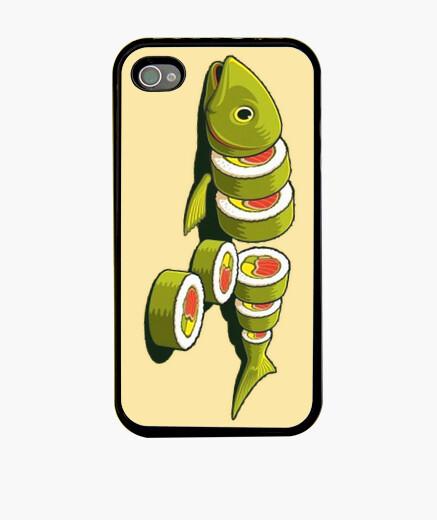 Funda iPhone Sushi fish