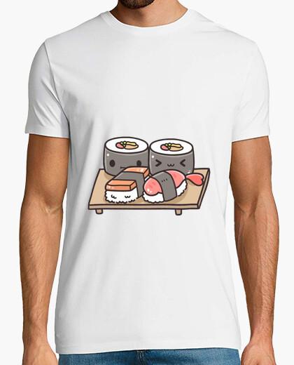Camiseta Sushi Kawaii