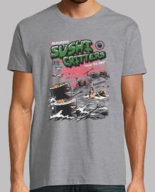 sushi lebewesen shirt herren
