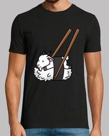 sushi mascotte de chèvre