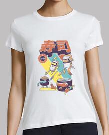 sushi sentai shirt frauen