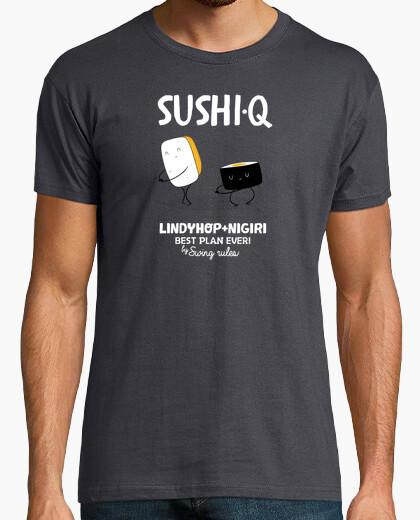 Tee-shirt sushiq blanc