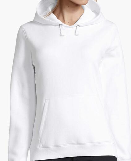 sweat shirt femme blanc
