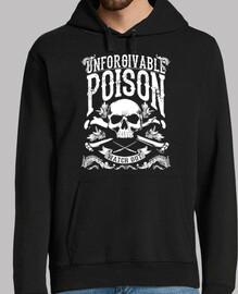 Sweat-shirt à capuche Homme - Dark Skull Poison