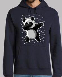 Sweat-shirt à capuche homme, bleu marine