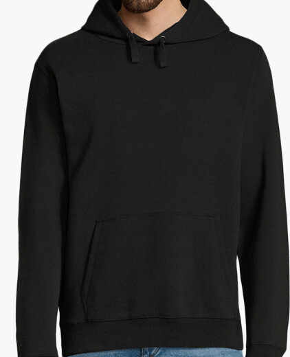 Sweat-shirt à capuche, noir