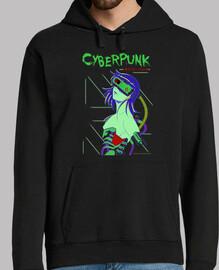 sweat-shirt cyberpunk