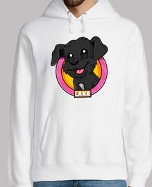 sweat-shirt garçon avec logo en laine