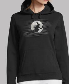 sweat-shirt lune - sorcière