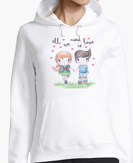 Sweat all nous avons besoin est amour