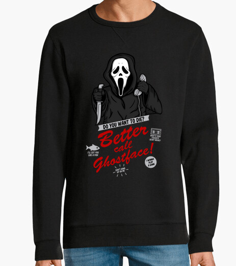 Sweat mieux c all ghostface