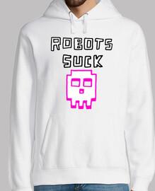 Sweat shirt Robots suck