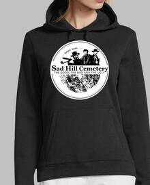 sweatshirt à capuche logo femme triste colline