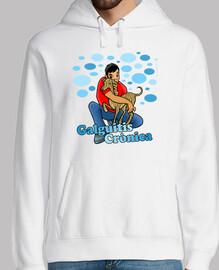 sweatshirt brindle wind klar - chronische galguitis