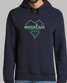 sweatshirt des montagnes