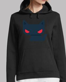 sweatshirt femme chat - différentes couleurs et tailles