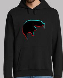 sweatshirt homme - tupé alex turner - singes arctiques
