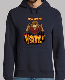 sweatshirt le loup-garou