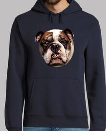 Sweatshirt model 'french bulldog'