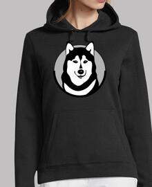 Sweatshirt model 'siberian husky'