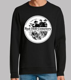 sweatshirt sans capuche logo sad hill