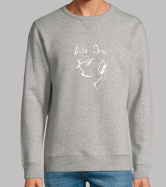 sweatshirt take your time nota bene white