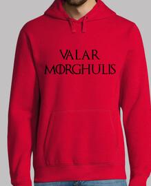 sweatshirt valar morghulis - game of thrones