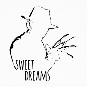 Tee-shirts Sweet dreams negro