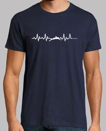 swimming heartbeat man