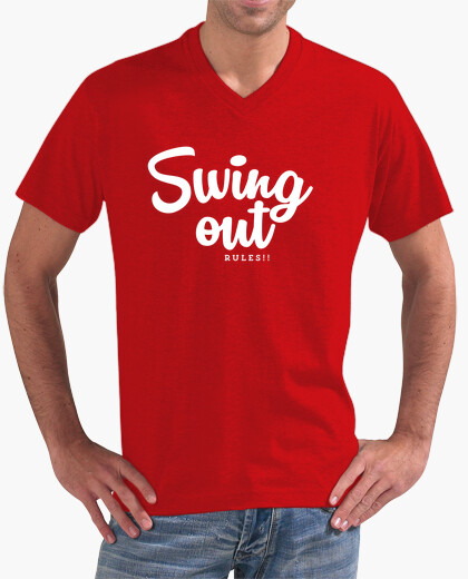 Camiseta Swing out rules!