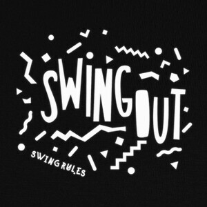 Camisetas Swing out song white