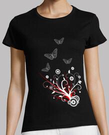Swirls con mariposas