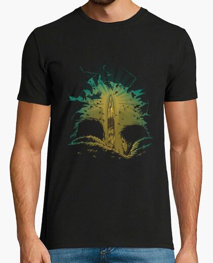 Sword in darkness t-shirt