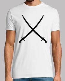 sword saber crossed