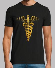 symbole caducée - gold édition