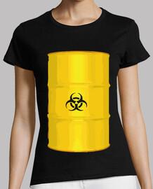 symbole de danger baril jaune