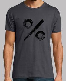 symbole de pourcentage - black edition