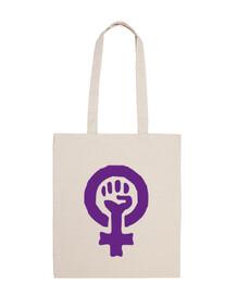 symbole feniniste violet