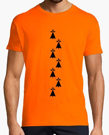 Tee-shirt symbole hermine bretonne