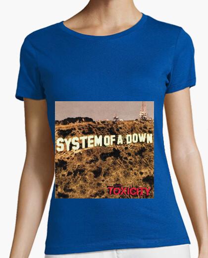e10f9cf889a00 Camiseta System of a Down Toxicity - nº 573729 - Camisetas latostadora